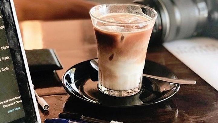 ice latte coffee institute